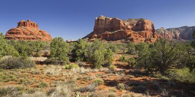 Bell Rock, Courthouse Butte, Bell Rock Trail, Sedona, Arizona, Usa