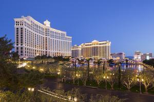 Bellagio Hotel, Strip, South Las Vegas Boulevard, Las Vegas, Nevada, Usa by Rainer Mirau