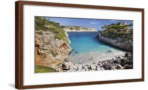 Cala S'Almunia, Beach, Person, Majorca, Spain by Rainer Mirau