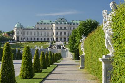 Castle Belvedere, Belvedere Garden, Vienna, Austria