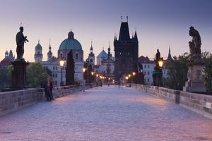 Czechia, Prague, Charles Bridge by Rainer Mirau