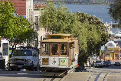 Hyde Street, Cable Car, San Francisco, California, Usa by Rainer Mirau