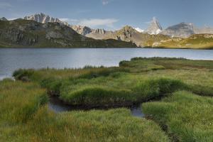 Lacs De Fen?e, Grandes Jorasses, Valais, Switzerland by Rainer Mirau