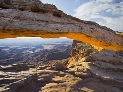 Mesa Arch, Canyonlands National Park, Moab, Utah, Usa by Rainer Mirau