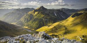 Namloser Wetterspitze, Steinjšchl, Lechtal Alps, Tyrol, Austria by Rainer Mirau
