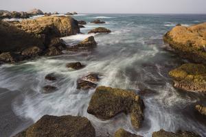 Rock Coast Near Point Lobos State Natural Reserve, Carmel by the Sea, California, Usa by Rainer Mirau