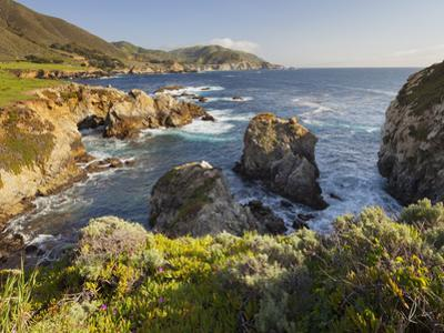 Rocky Point, Big Sur, Cabrillo Highway 1, California, Usa by Rainer Mirau