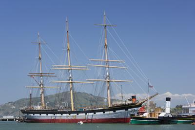 Sailing Ship T.S. Balclutha at Hyde Street Pier, San Francisco, California, Usa by Rainer Mirau