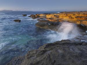 Sandstone Coast at Betlem, Del Llevant Peninsula, Majorca, Spain by Rainer Mirau