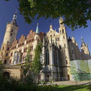 Schwerin Castle, Terracotta Plates, Schwerin (Capital), Mecklenburg-Western Pomerania, Germany by Rainer Mirau