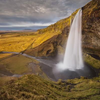 Seljalandsfoss (Waterfalls), South Iceland, Iceland by Rainer Mirau