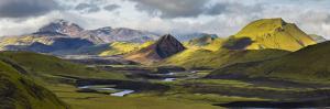 Tindfjallaj?kull, Fjallabak, South Iceland, Iceland by Rainer Mirau