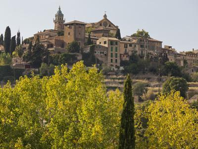 Town View of Valldemossa, Majorca, Spain by Rainer Mirau