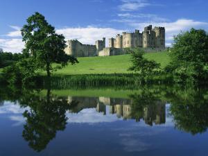 Alnwick Castle, Northumberland, England, United Kingdom, Europe by Rainford Roy