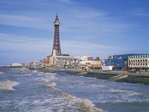 Blackpool Tower, Blackpool, Lancashire, England, United Kingdom, Europe by Rainford Roy