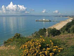 Bournemouth Pier, Poole Bay, Dorset, England, United Kingdom, Europe by Rainford Roy