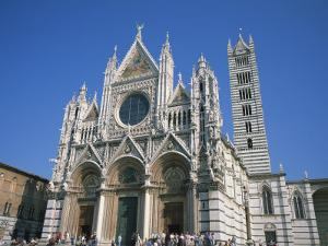 Cathedral in Siena, UNESCO World Heritage Site, Tuscany, Italy, Europe by Rainford Roy