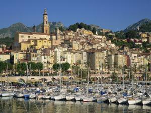 Menton, Alpes Maritimes, Cote D'Azur, Provence, France by Rainford Roy