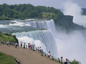 Niagara Falls, New York State, United States of America, North America by Rainford Roy