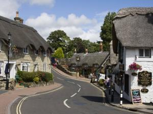 Thatched Houses, Teashop and Pub, Shanklin, Isle of Wight, England, United Kingdom, Europe by Rainford Roy