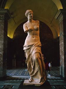 Venus De Milo, Musee Du Louvre, Paris, France, Europe by Rainford Roy