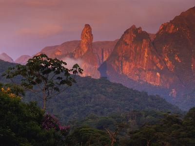 Rainforest and Mountains-Kevin Schafer-Photographic Print