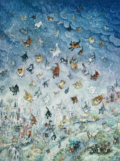 Raining Cats and Dogs-Bill Bell-Giclee Print