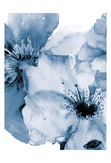 Raining Flowers 2-Victoria Brown-Art Print