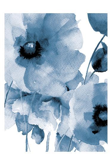 Raining Flowers-Victoria Brown-Art Print