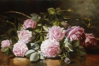 Rainwashed Roses, 1898-Edward Chalmers Leavitt-Giclee Print