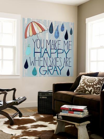 Rainy Day III-Grace Popp-Wall Mural