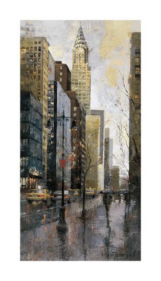 Rainy Day in Manhattan-Marti Bofarull-Giclee Print