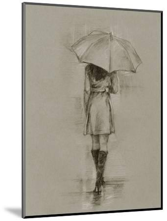 Rainy Day Rendezvous I-Ethan Harper-Mounted Art Print