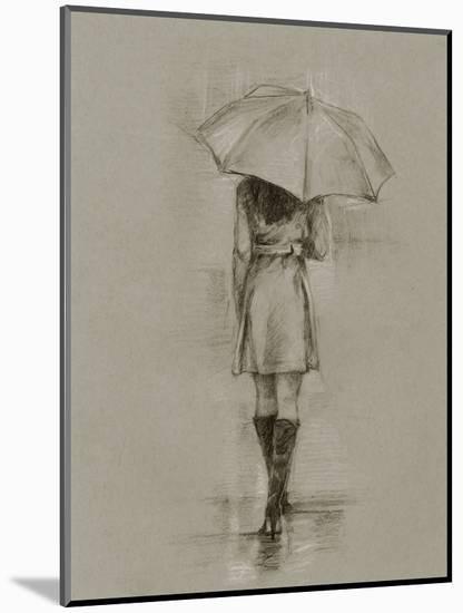 Rainy Day Rendezvous I-Ethan Harper-Mounted Art Print