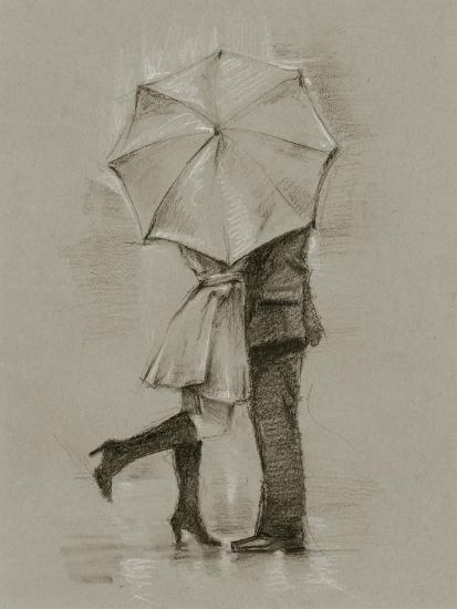 Rainy Day Rendezvous III-Ethan Harper-Art Print