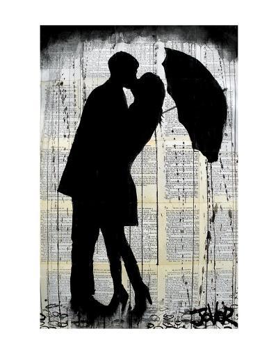 Rainy Day Romantics-Loui Jover-Art Print