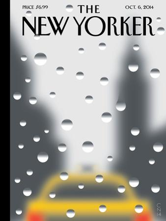 Rainy Day - The New Yorker Cover, October 6, 2014