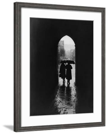 Rainy Day--Framed Photographic Print