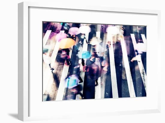 Rainy Days A--Framed Premium Giclee Print