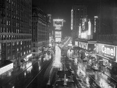 Rainy Night in times Square