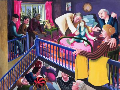 Raising of Jairus' Daughter, 2000-Dinah Roe Kendall-Giclee Print