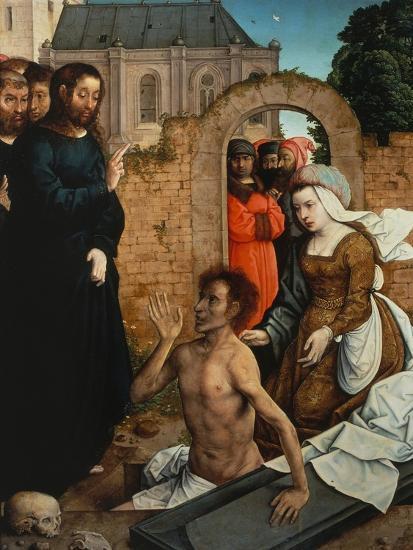 Raising of Lazarus-Juan de Flandes-Giclee Print