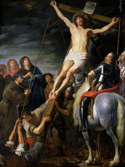 Raising the Cross, 1631-37-Gaspard de Crayer-Giclee Print