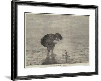 Raising the Wind--Framed Giclee Print