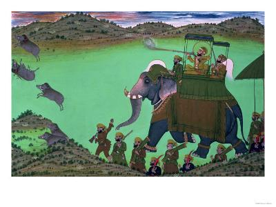 Raja Sarup Singh--Giclee Print