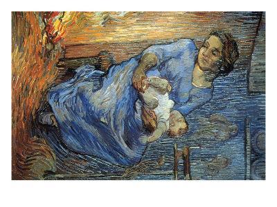 Rake-Vincent van Gogh-Art Print