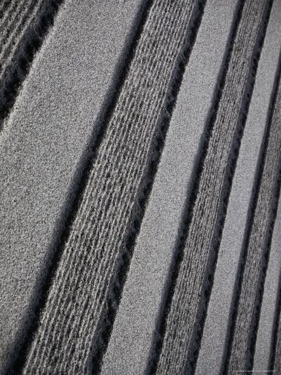 Raked Sand Patterns in Gardens of Ginkaku-Ji Temple, Kyoto, Japan-Martin Moos-Photographic Print