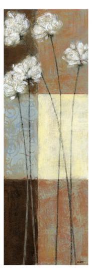 Raku Blossoms I-Norman Wyatt Jr^-Art Print