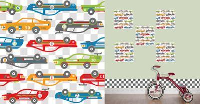 Rally Racers Blox Wall Decal Sticker