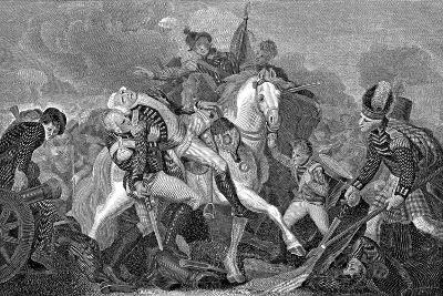 Ralph Abercromby (1734-180), Scottish General, at the Battle of Aboukir Bay, Egypt, 1801--Giclee Print